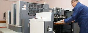 外注している印刷物を内製化すると、コストが60%削減できる
